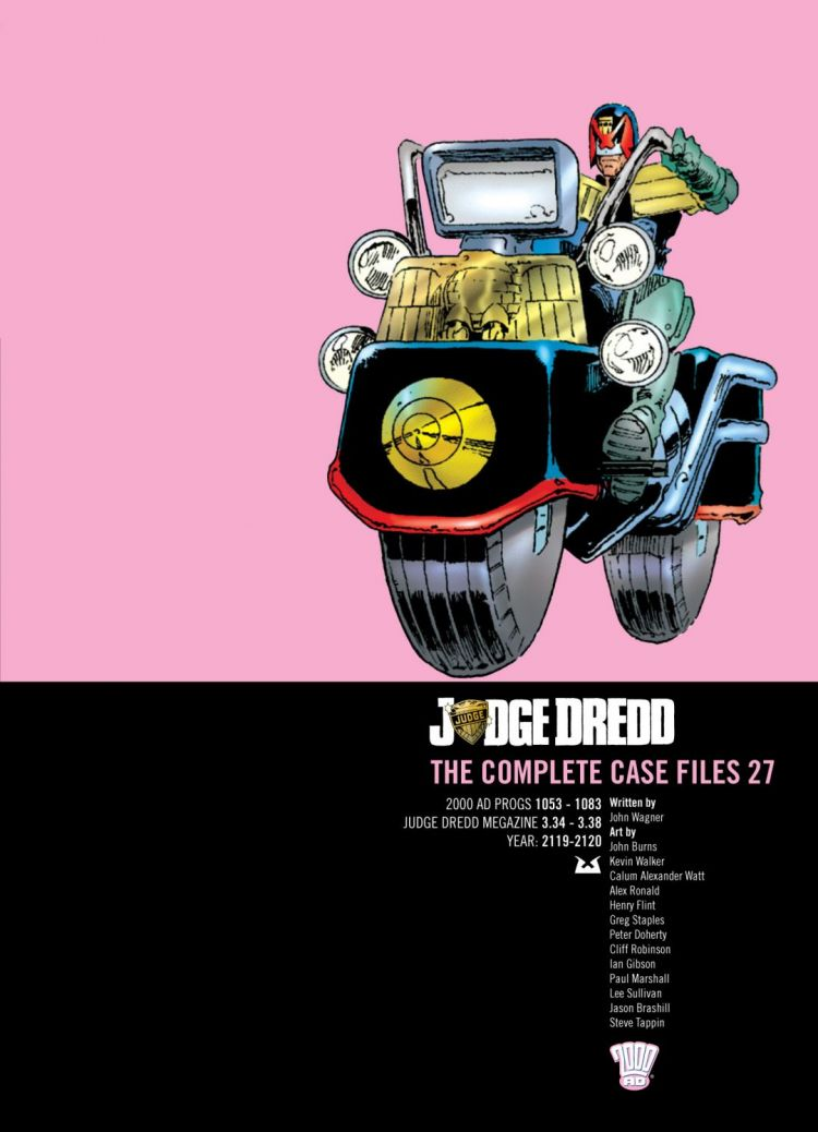 Judge Dredd: Case Files 27