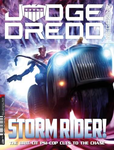 Judge Dredd Megazine 407