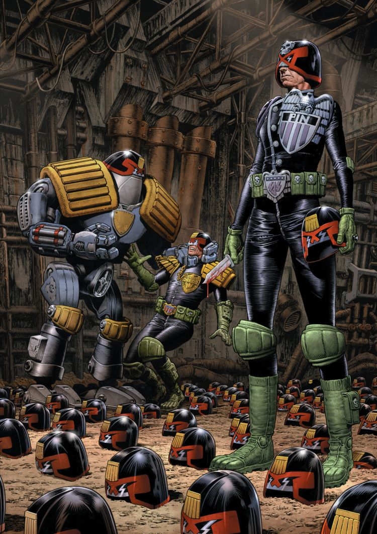 Judge Dredd: Control Limited Edition Webshop Exclusive Hardcover