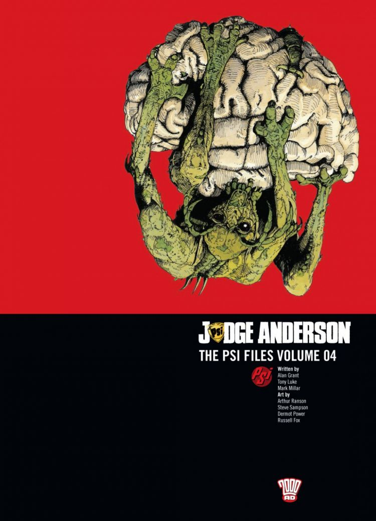 Judge Anderson: The Psi Files Volume 04