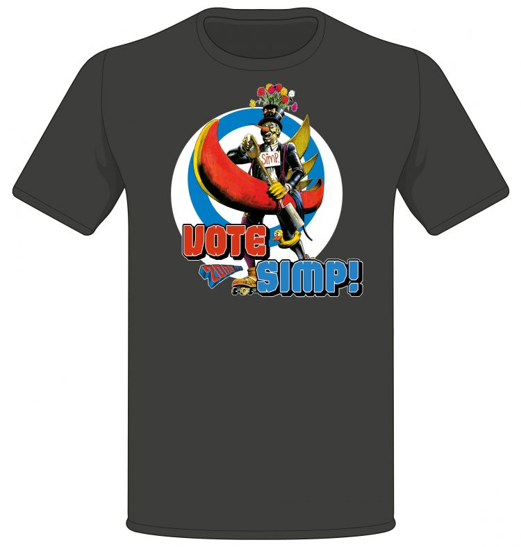Judge Dredd - Vote Simp! T-shirt