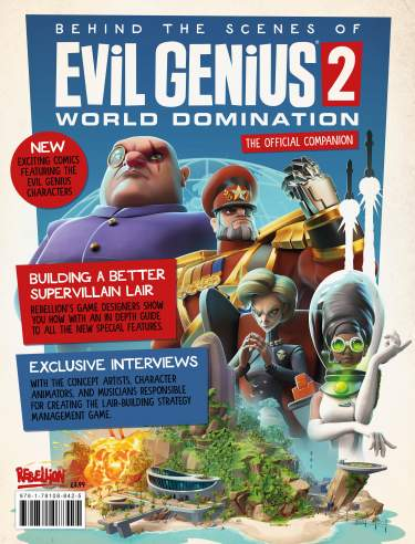 Evil Genius 2 Official Companion Magazine
