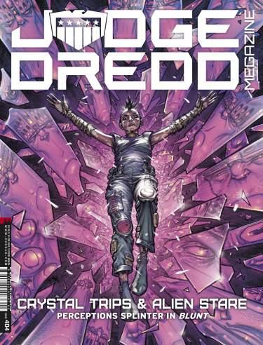 Judge Dredd Megazine 404