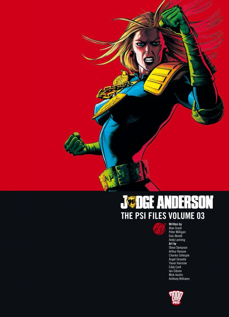 Judge Anderson: The Psi Files Volume 03