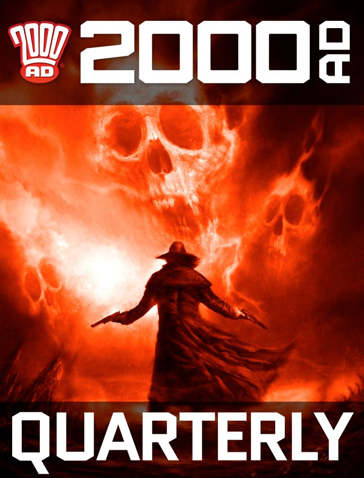 Quarterly 2000 AD Subscription