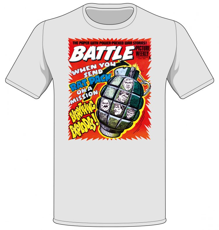 Battle/ Rat Pack Cover T-shirt