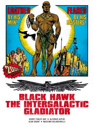 Black Hawk The Intergalactic Gladiator