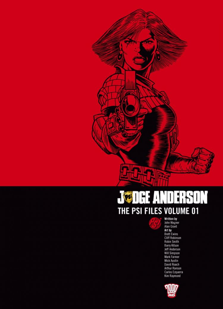 Judge Anderson: The Psi Files Volume 01
