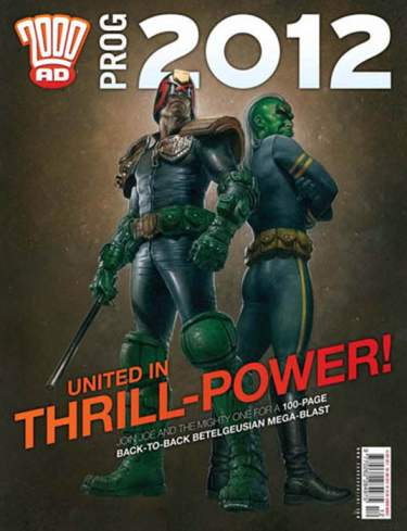 2000 AD Prog 2012 (Chistmas Special)