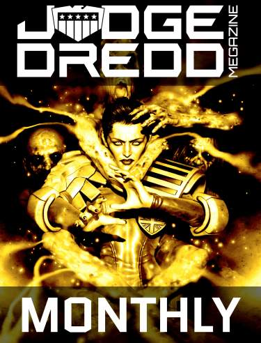 Monthly Judge Dredd Megazine Subscription