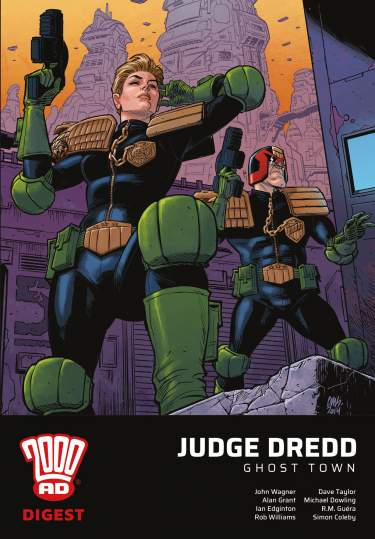 Judge Dredd - Ghost Town Digest