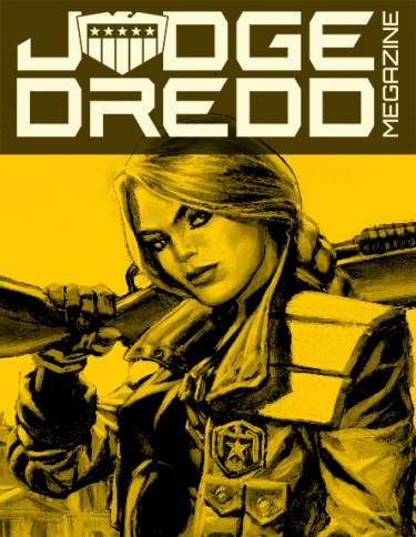 2015 Complete Judge Dredd Megazine Collection