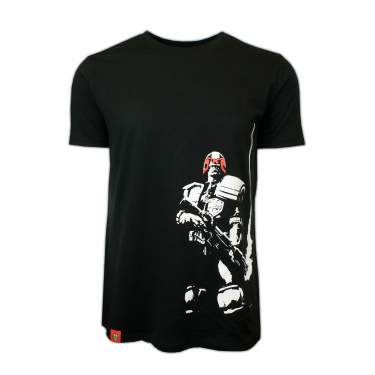 PREMIUM David Aja Smoking Gun Judge Dredd Black T-Shirt