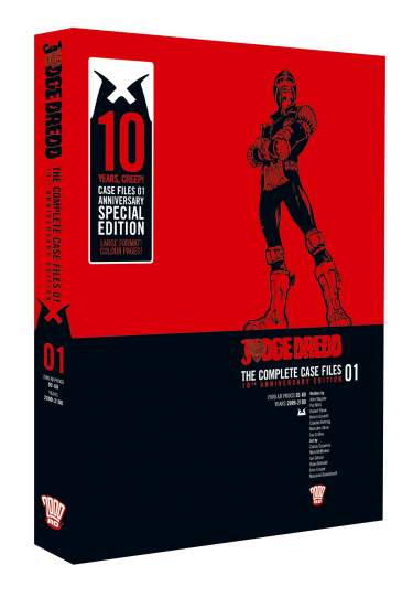 Judge Dredd: Case Files 01 [10th Anniversary Hardback]