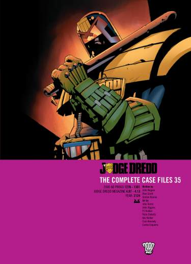 Judge Dredd: Case Files 35