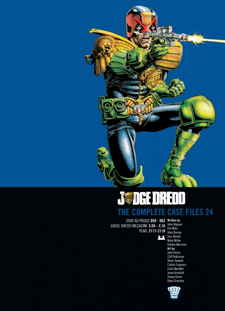 Judge Dredd: Case Files 24