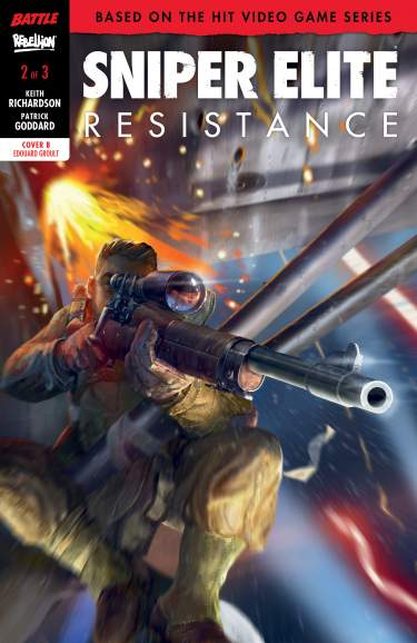 SNIPER ELITE: RESISTANCE # 1 Groult Cover