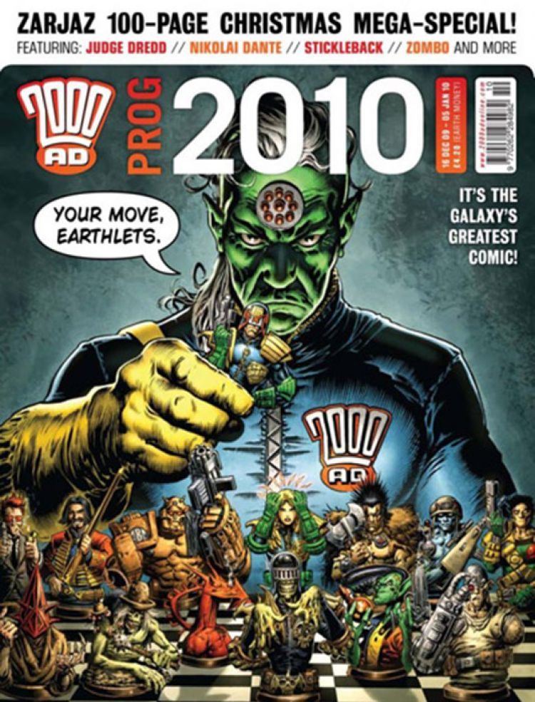 2000 AD Prog 2010 (Chistmas Special)