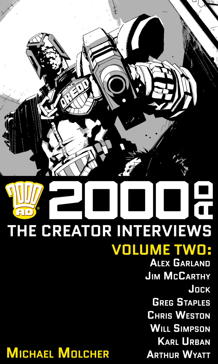 2000 AD: The Creator Interviews - Volume 02