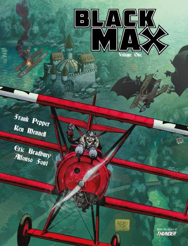 Black Max - VOLUME 1  [Limited Edition Hardback]