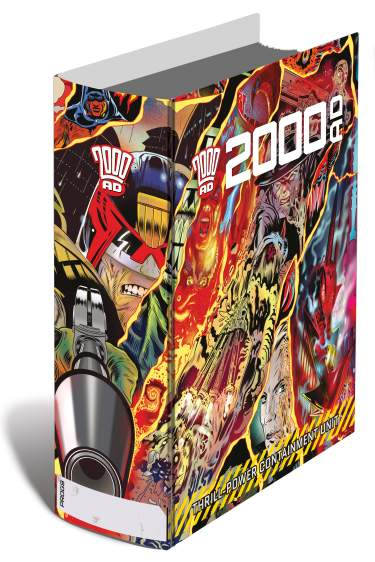 2000 AD THRILL-CONTAINMENT BINDER, LTD EDITION