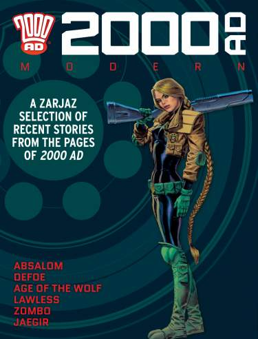 2000 AD Modern Collection 2015