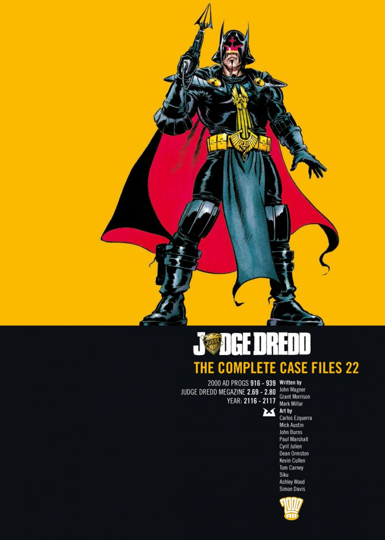 Judge Dredd: Case Files 22