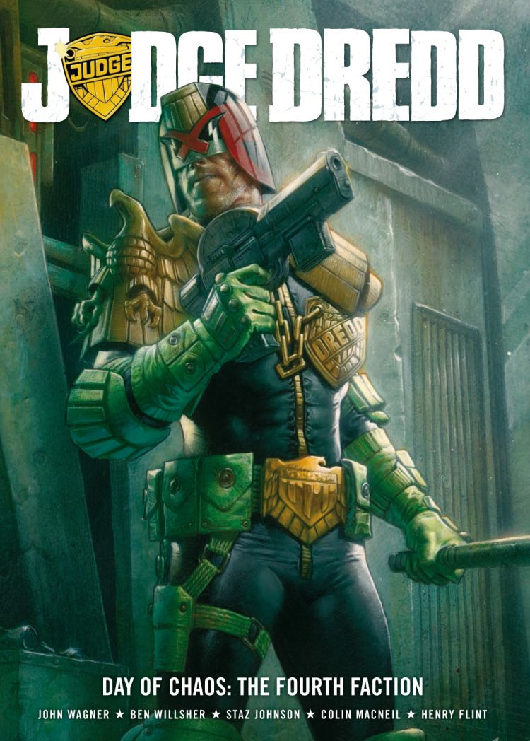 Judge Dredd: Day of Chaos - The Fourth Faction