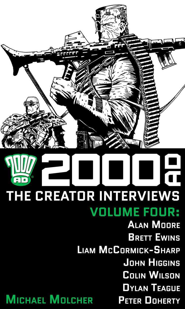 2000 AD: The Creator Interviews - Volume 04
