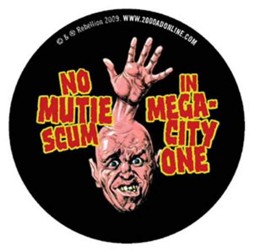 Dan Franciso 'Muties Out' badge