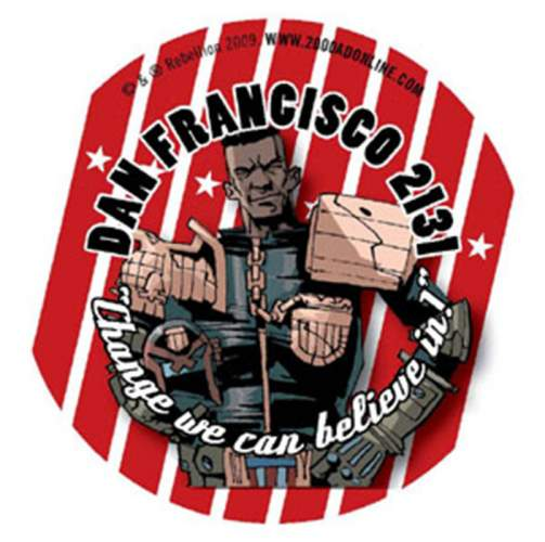 Dan Franciso 2131 campaign badge