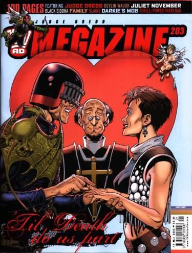 Judge Dredd Megazine 203