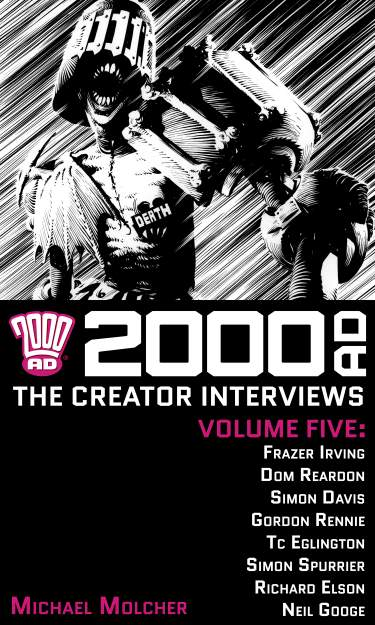 2000 AD: The Creator Interviews - Volume 05