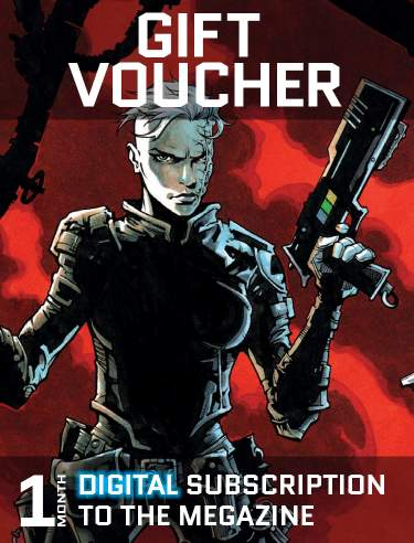 Gift Voucher for a Month's Digital Subscription to the Megazine