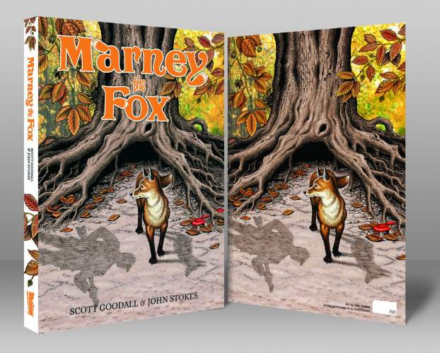 Marney the Fox - [Signed Bookplate Edition Hardcover]