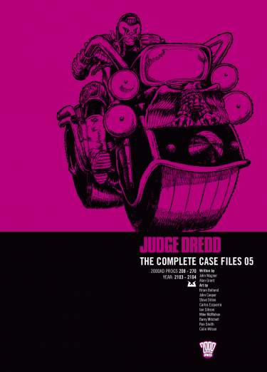Judge Dredd: Case Files 05