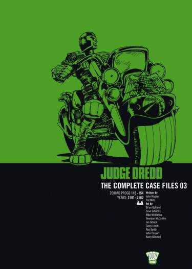 Judge Dredd: Case Files 03