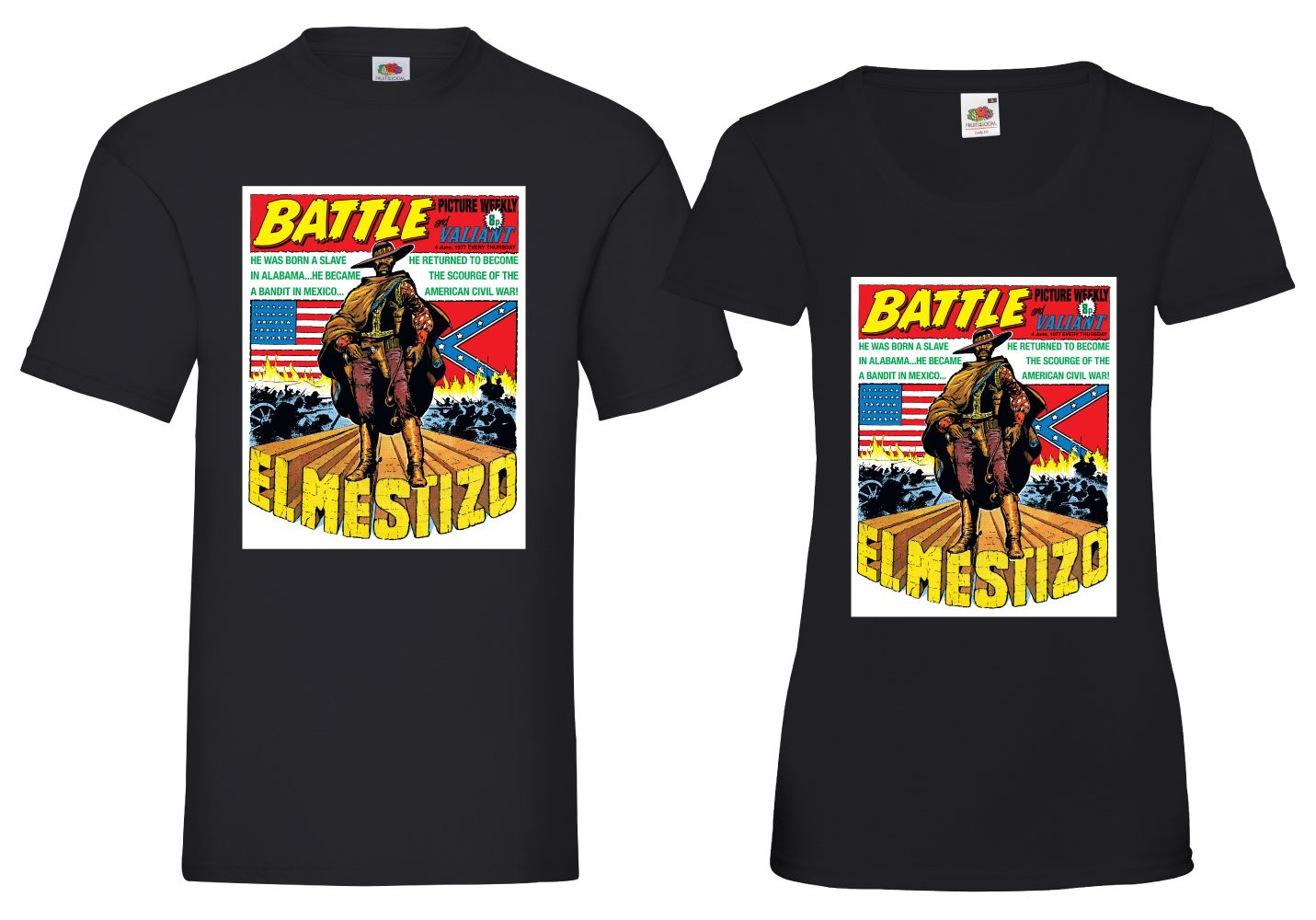 El Mestizo Battle Cover T-shirt