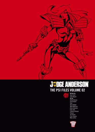 Judge Anderson: The Psi Files Volume 02