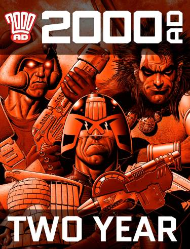 Two Year 2000 AD Subscription