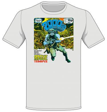 Rogue Trooper Prog 228 cover T-shirt