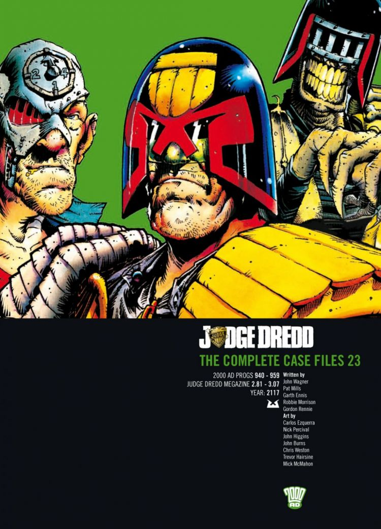 Judge Dredd: Case Files 23