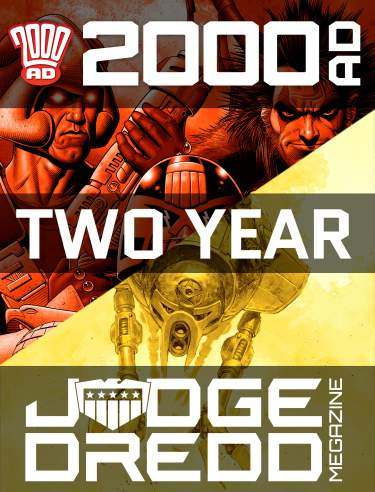 Two Year Combi 2000 AD Subscription