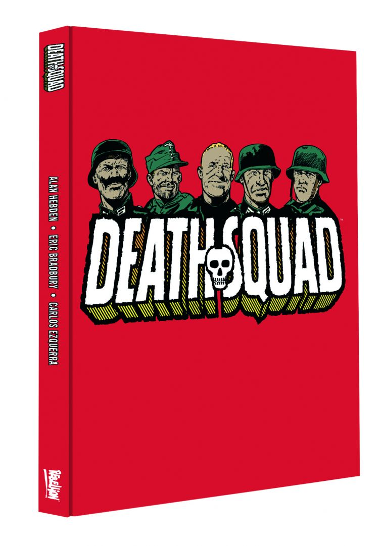 Death Squad Webshop Exclusive Hardcover