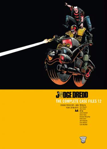 Judge Dredd: Case Files 12