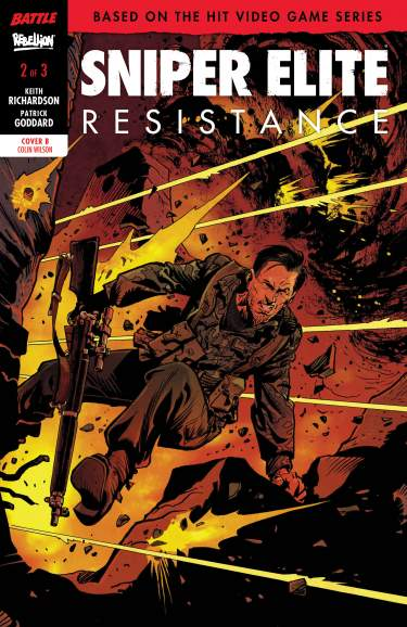SNIPER ELITE: RESISTANCE #2 Cover B by Colin Wilson