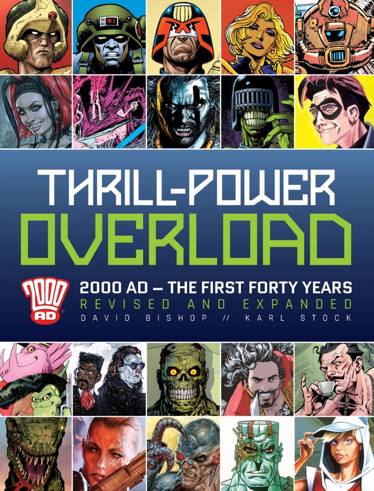 Thrill-Power Overload: 2000 AD The First Forty Years