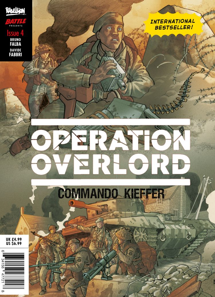 Operation Overlord Issue #4