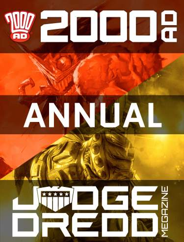Annual Combi 2000 AD Subscription