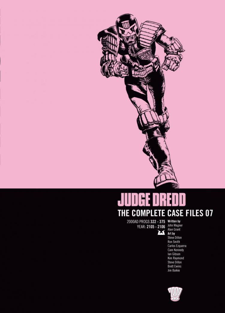Judge Dredd: Case Files 07